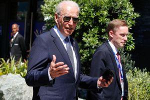 Joe Biden llega a Bruselas Bélgica para participar en cumbre de la OTAN y de la Unión Europea