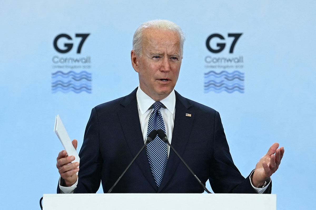 """Joe Biden califica de """"extraordinariamente productivo y colaborativo"""" los trabajos concluidos de la Cumbre del G7"""