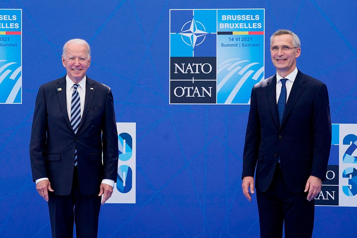 """Joe Biden dice en la OTAN que Rusia y China no están actuando de """"manera coherente"""" a lo esperado y advierte de nuevos retos"""