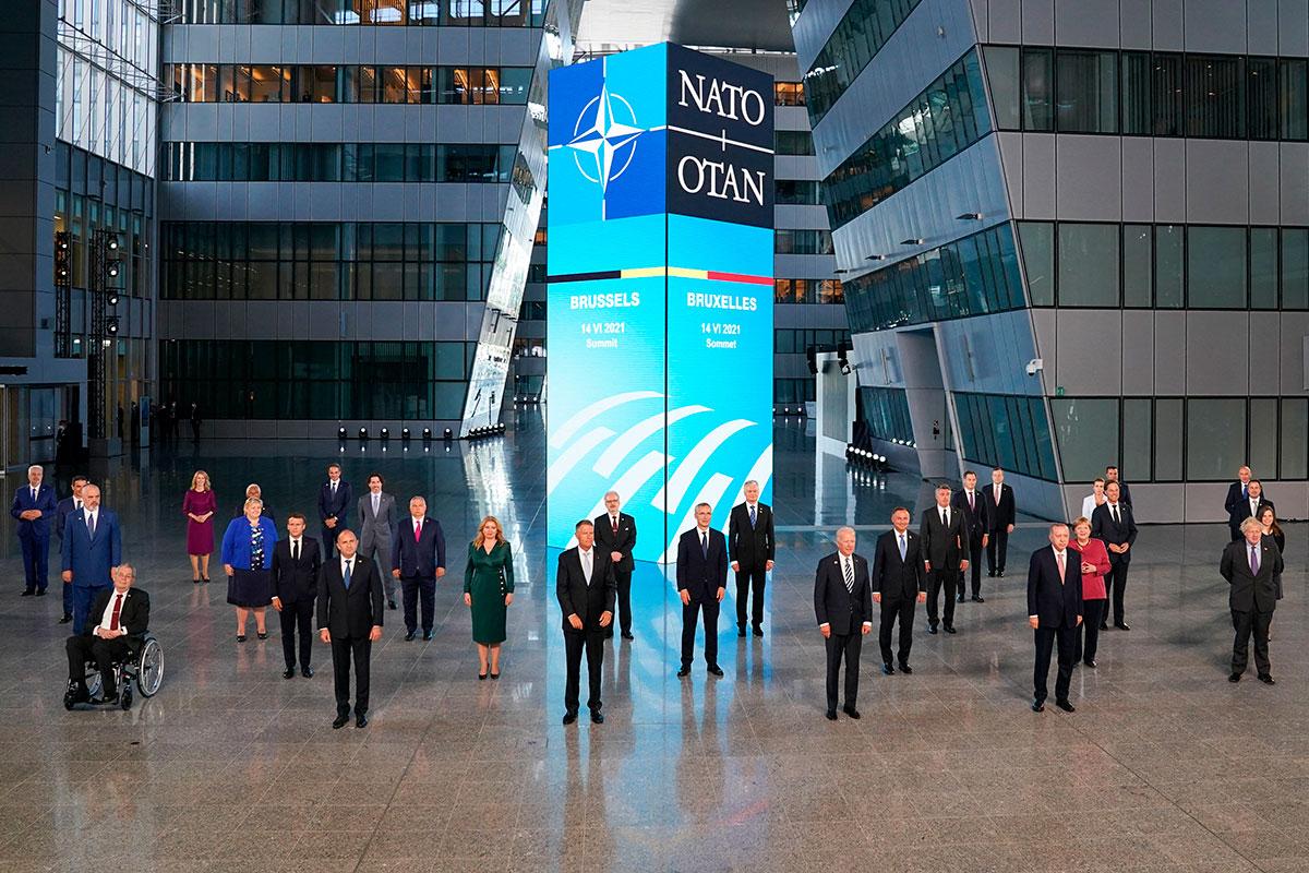 OTAN Cumbre de líderes