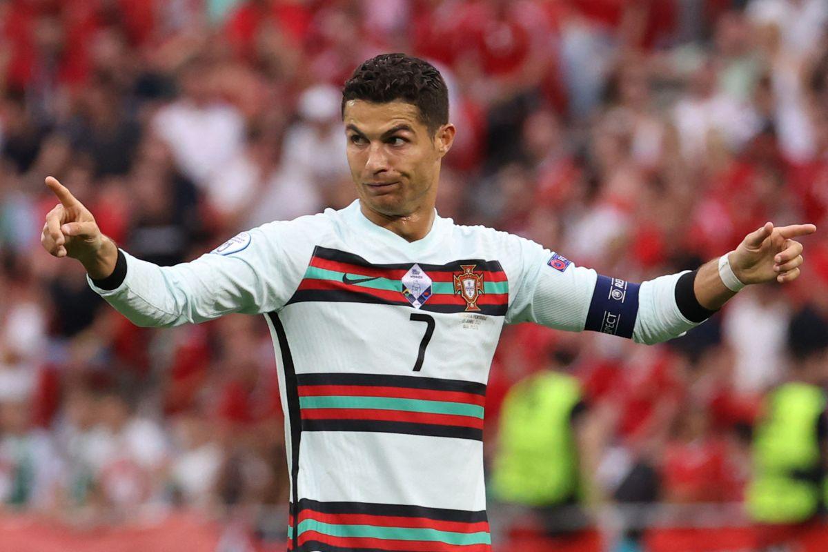 ¿Usted quién es?: Le pidieron acreditación a Cristiano antes del partido contra Hungría