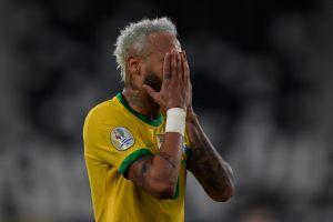 Pese a la goleada de Brasil, Neymar salió en llanto por los momentos difíciles que ha vivido