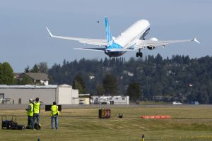Boeing realiza su primer vuelo de prueba de su nuevo modelo del 737 Max 10