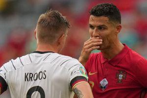 Kroos revela su conversación con Cristiano en el Alemania vs. Portugal
