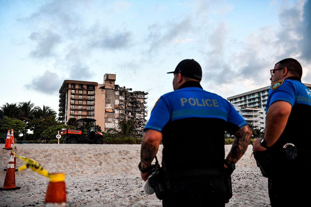 VIDEO: difunden momento exacto del derrumbe del edificio Champlain Towers de Miami donde se reportan 51 desaparecidos