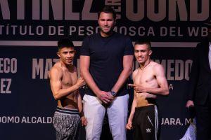 La cartelera de este sábado: Rey Martínez defenderá cinturón de peso mosca
