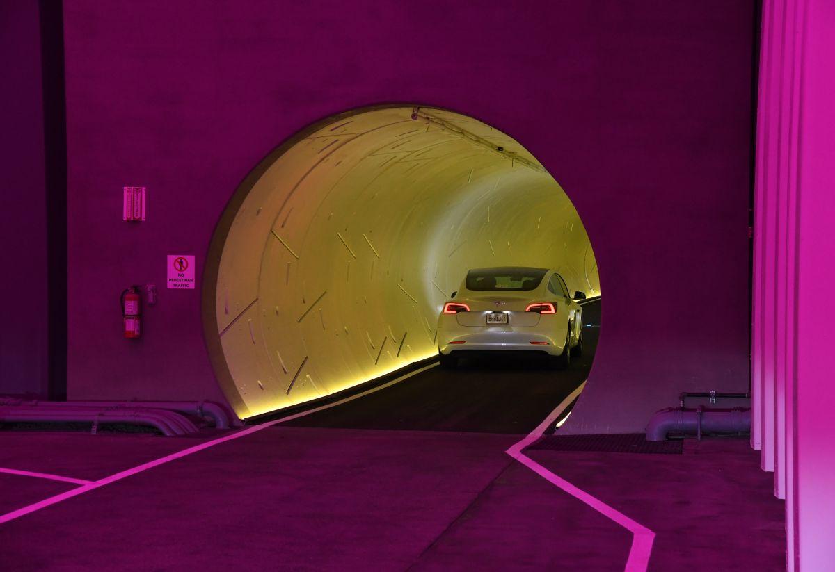 El objetivo del túnel de The Boring Company es evitar el tráfico de la ciudad.