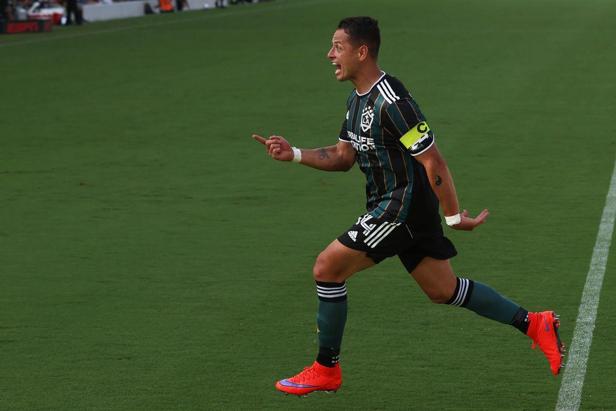 El mexicano fue nombrado como jugador del mes en la MLS.