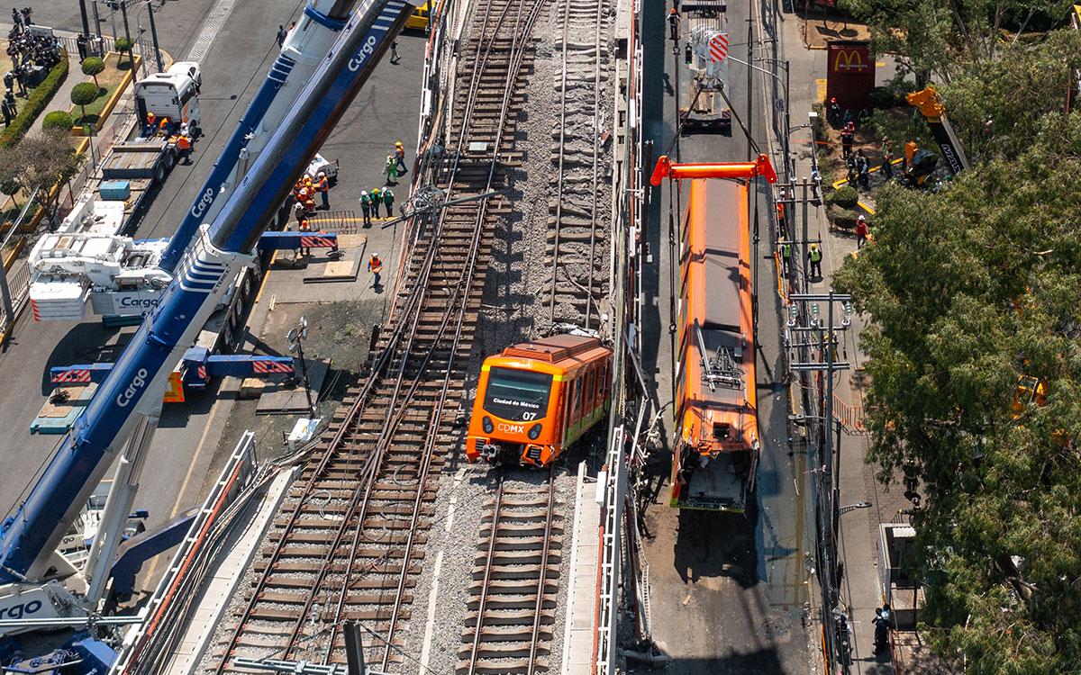 """AMLO celebra que el magnate mexicano Carlos Slim tenga la """"voluntad"""" de reparar la Línea 12 del Metro"""