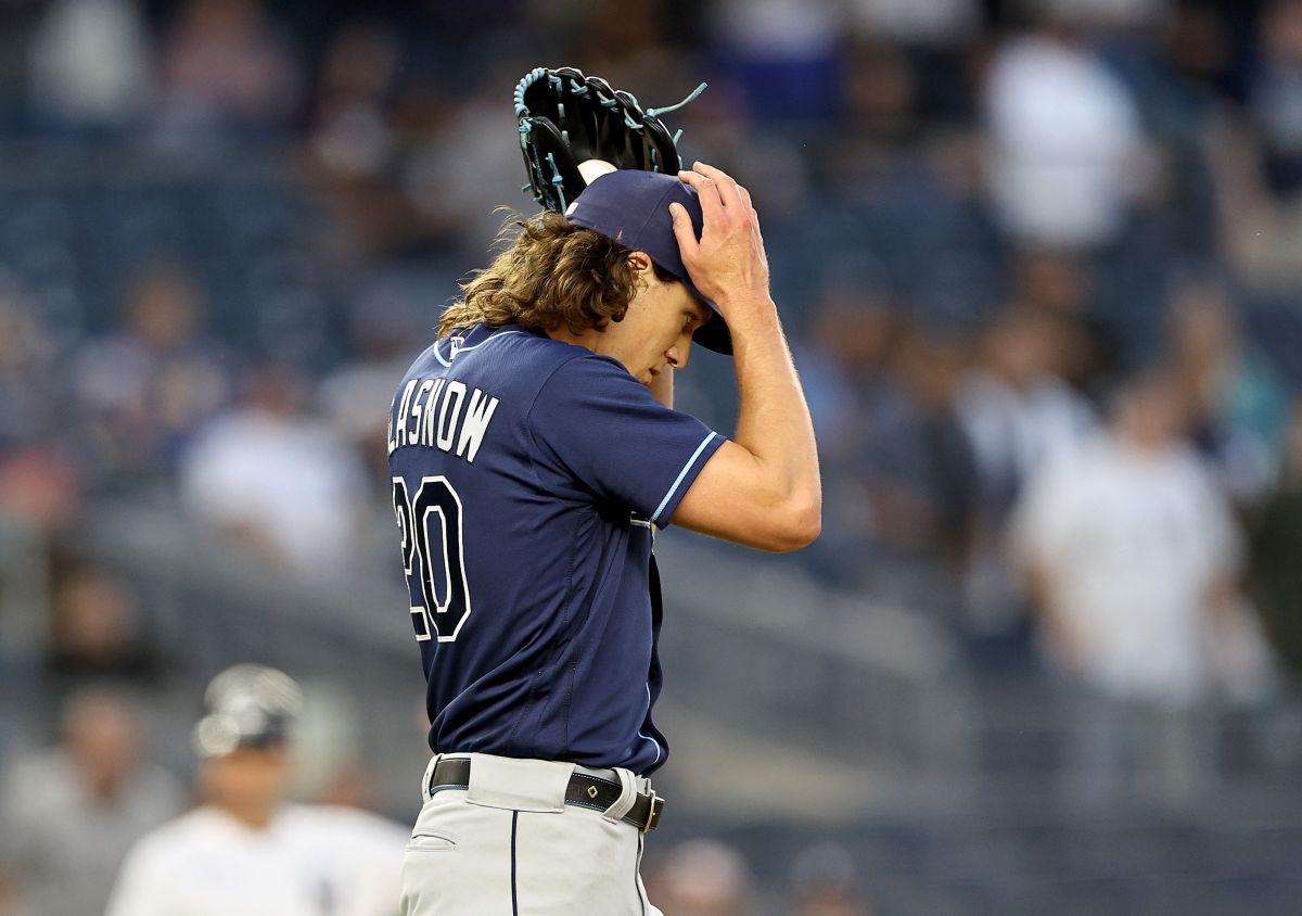 Insólito: lanzador de Tampa Bay Rays dijo que su lesión es culpa de MLB