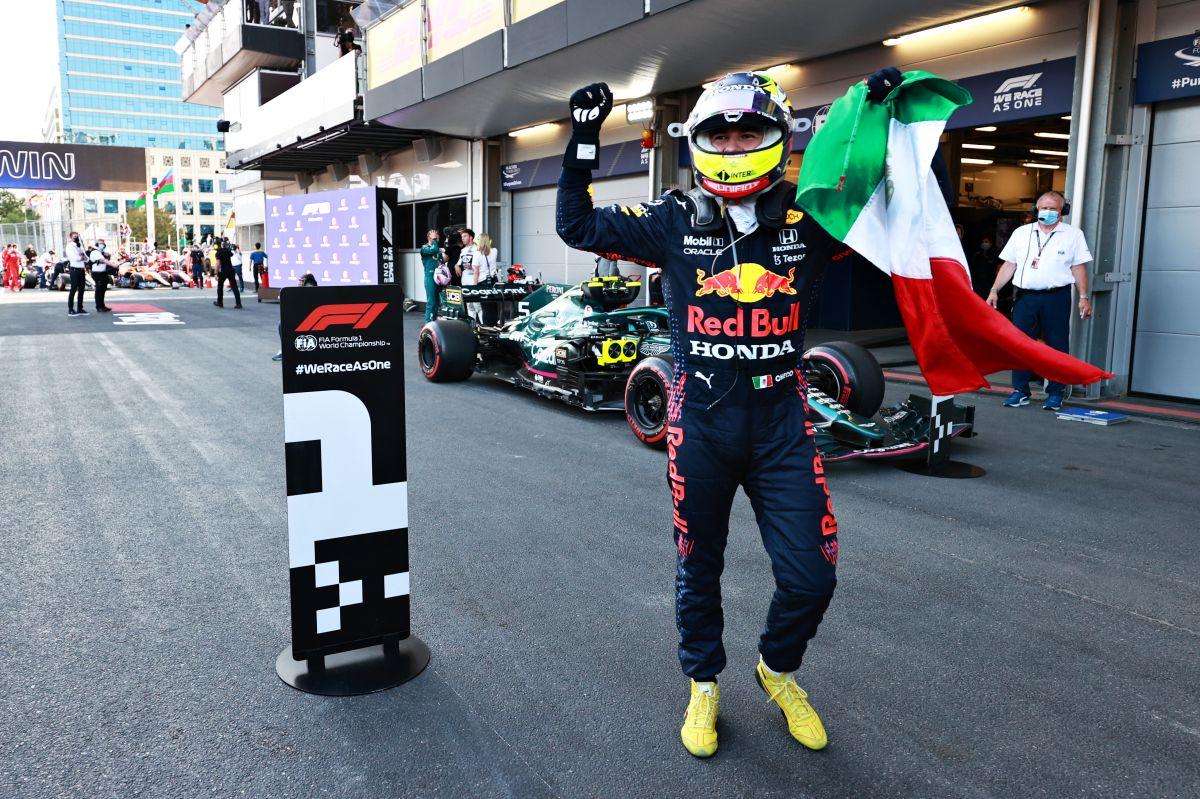 Sergio Pérez ganó su segundo premio en Fórmula 1.