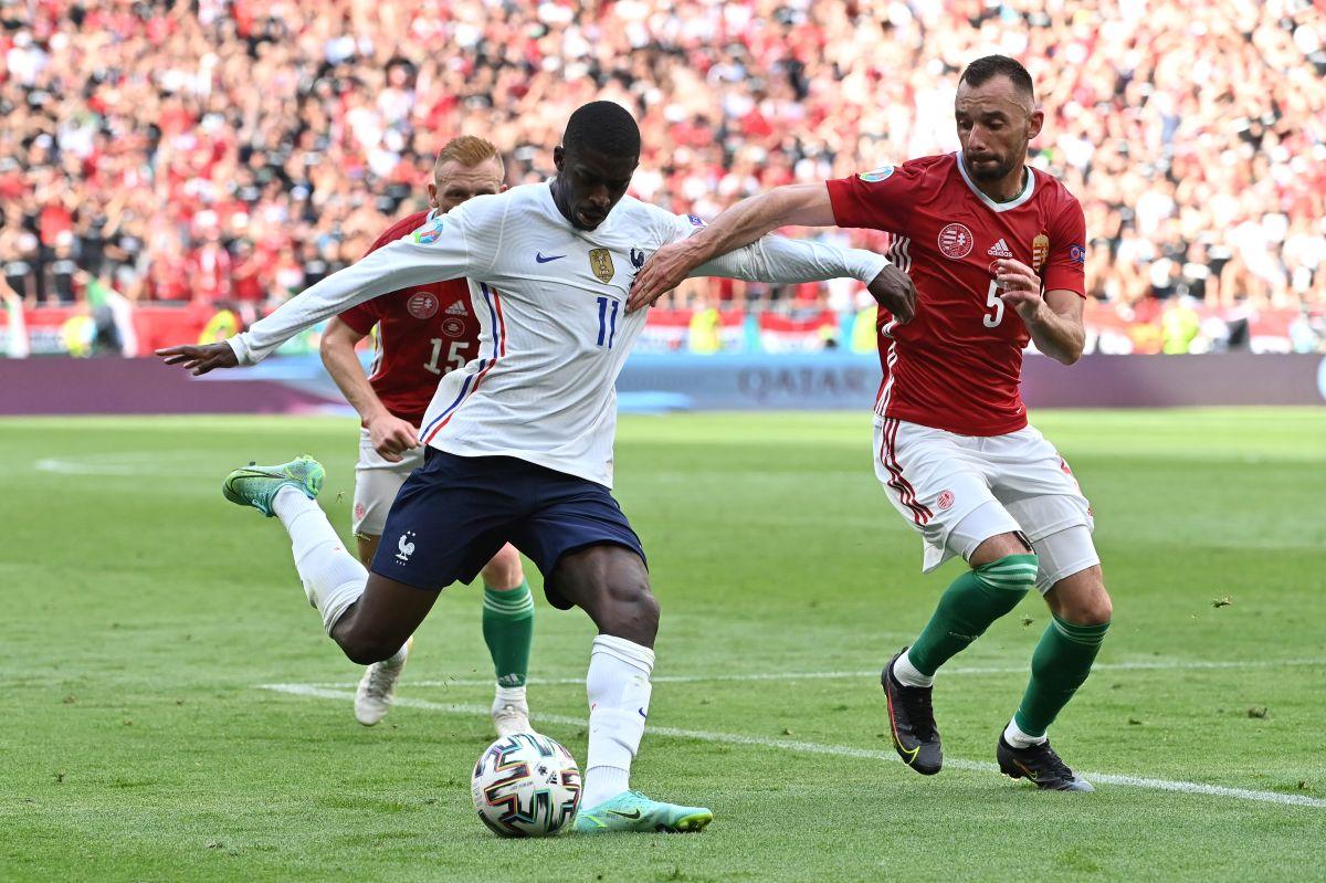 Dembelé no jugará más la Eurocopa