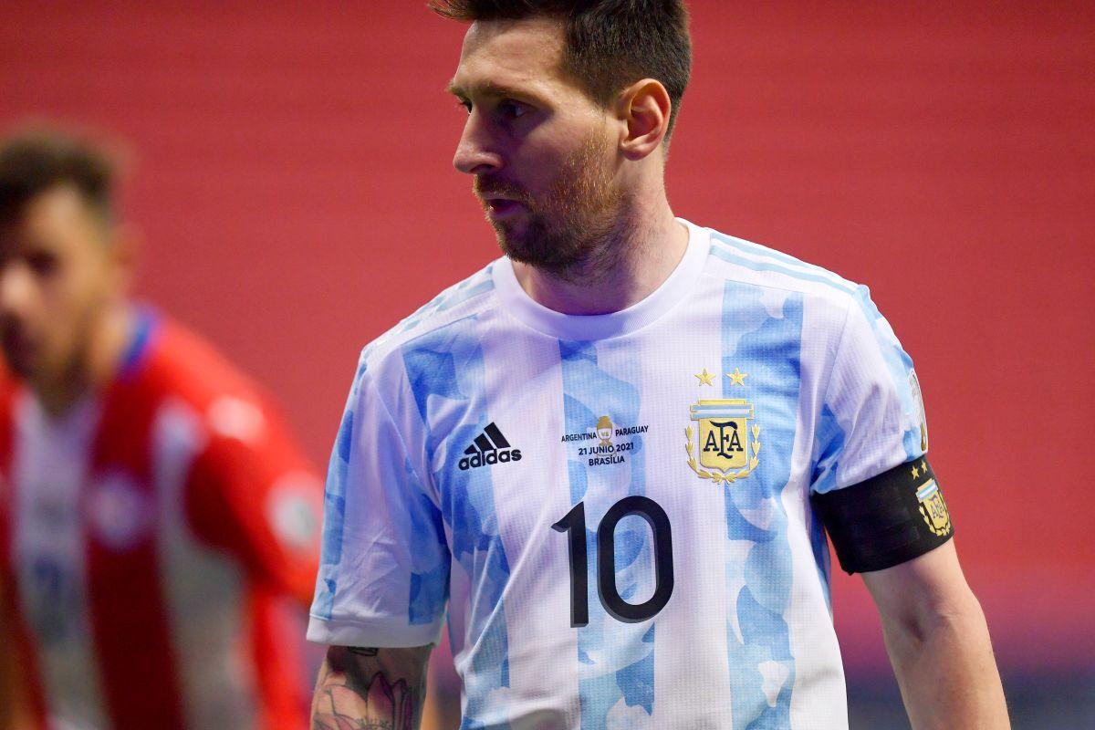 Histórico: Messi iguala record de partidos con la selección Argentina