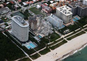 4 muertos y 159 desaparecidos por derrumbe de edificio en Miami-Dade; riesgosas labores de búsqueda continúan