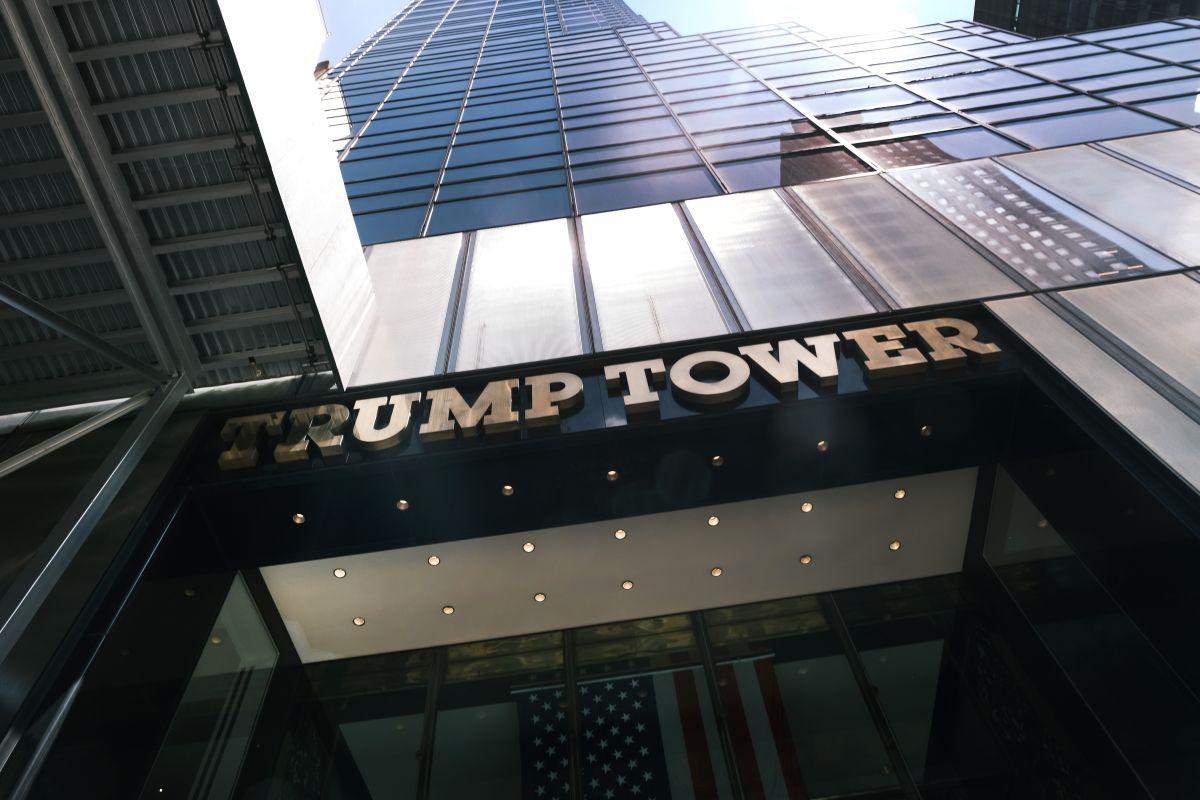 Trump Tower, sede de la Organización Trump, en la ciudad de Nueva York.