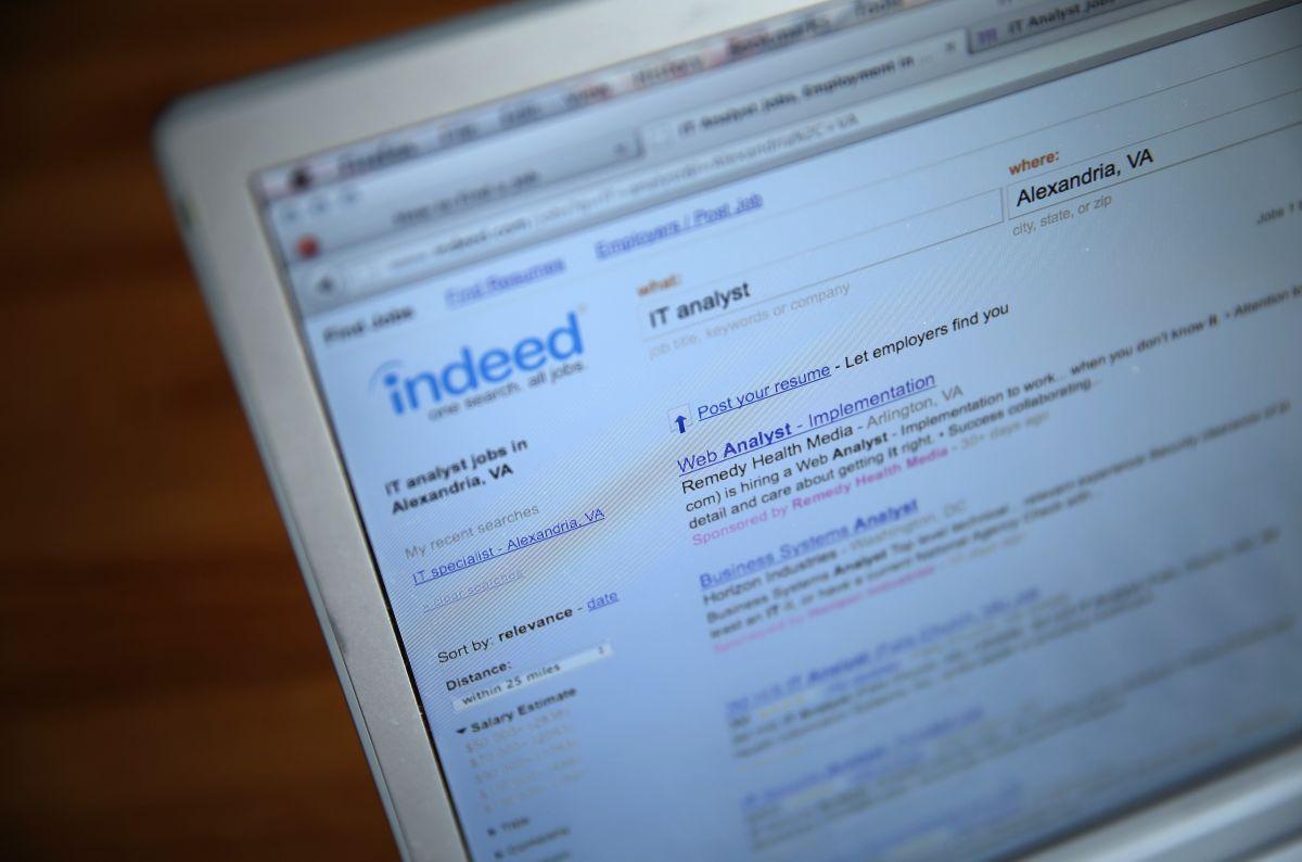 Indeed elaboró un escrutinio en 5,000 adultos estadounidenses realizada del 26 de mayo al 3 de junio.