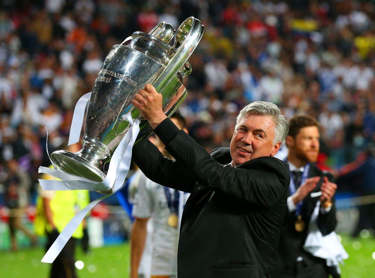 Ancelotti fue uno de los principales gestores de la décima Champions del conjunto blanco.