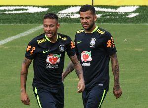 Brasil convoca a Dani Alves a los Juegos Olímpicos y deja fuera a Neymar