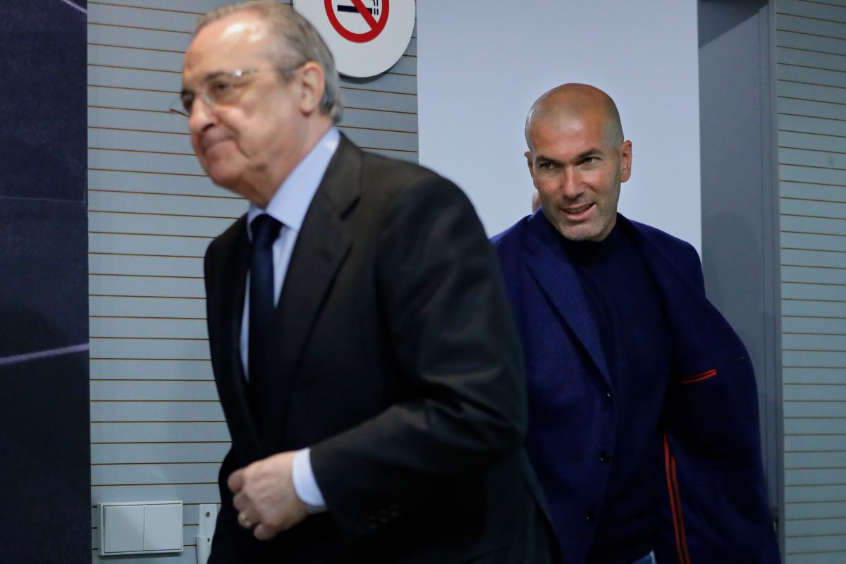 """Ni la leí"": Florentino Pérez sobre la carta de Zidane"