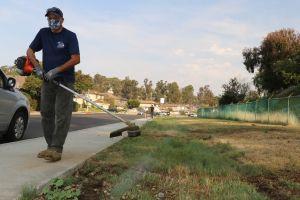Trabajadores al aire libre en riesgo ante las altas temperaturas del sur de California