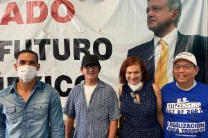 Mexicanos de Los Ángeles se unieron a la jornada electoral su país natal
