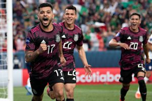 Increíble: En el segundo 61 Tecatito le da el primer gol a México en la Final de la Nations League