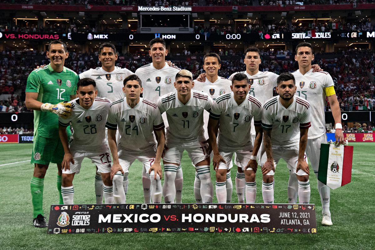 VIDEO: Seleccionados de México y Honduras tuvieron un peligroso choque al estilo NFL