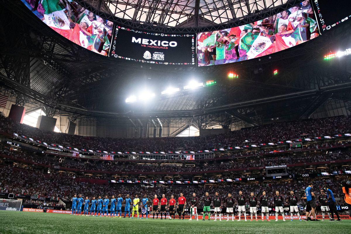 Casa llena en la pandemia: selecciones de México y Honduras jugaron ante más de 70,000 aficionados en Atlanta