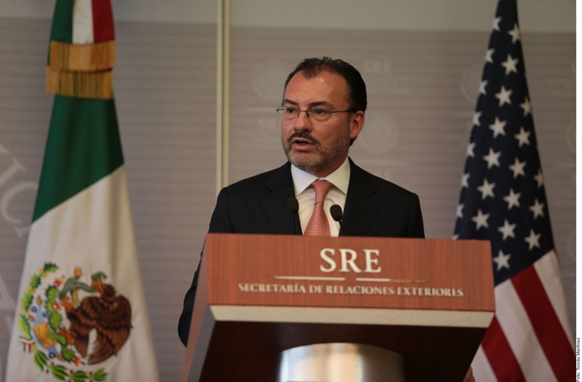 Luis Videgaray, excanciller de México,  es inhabilitado por 10 años para poder ejercer algún cargo público.