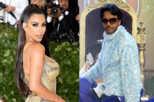Eugenio Derbez reacciona con memes al excéntrico auto forrado de peluche de Kim Kardashian