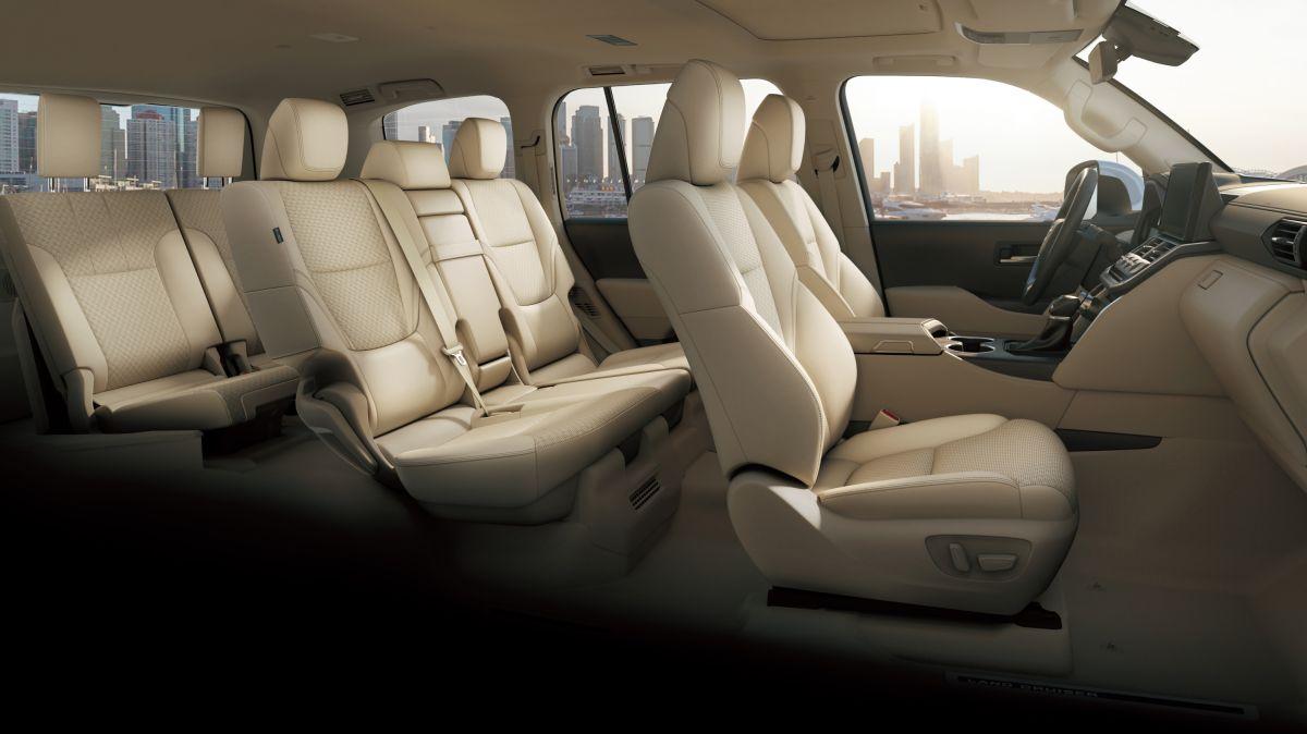 Foto del interior del Land Cruiser Serie 300