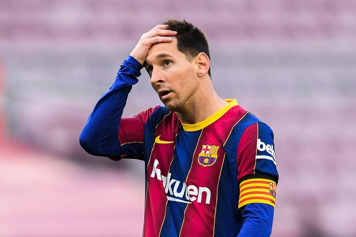 El FC Barcelona asegura que Messi quiere quedarse.