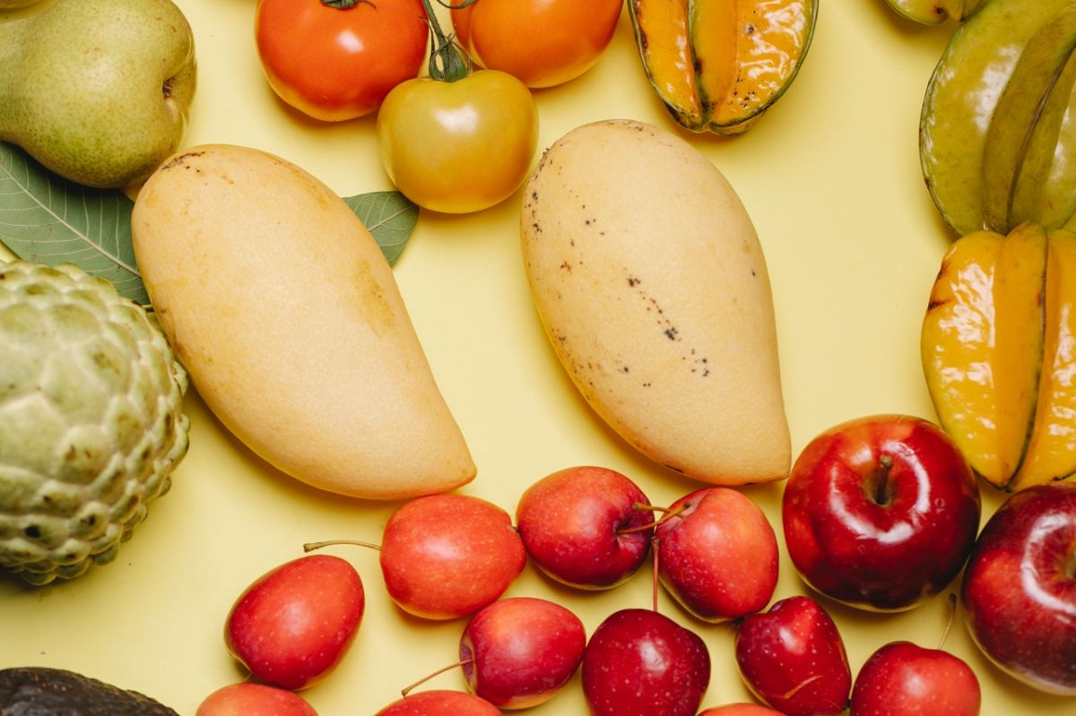 Los mangos, las naranjas y las cerezas se encuentran entre las frutas con más azúcar.