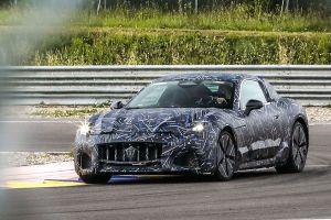 El primer Maserati eléctrico ya se divierte en la pista