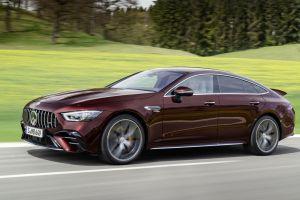 Mercedes-AMG GT 4 puertas Coupé: actualización en el horizonte