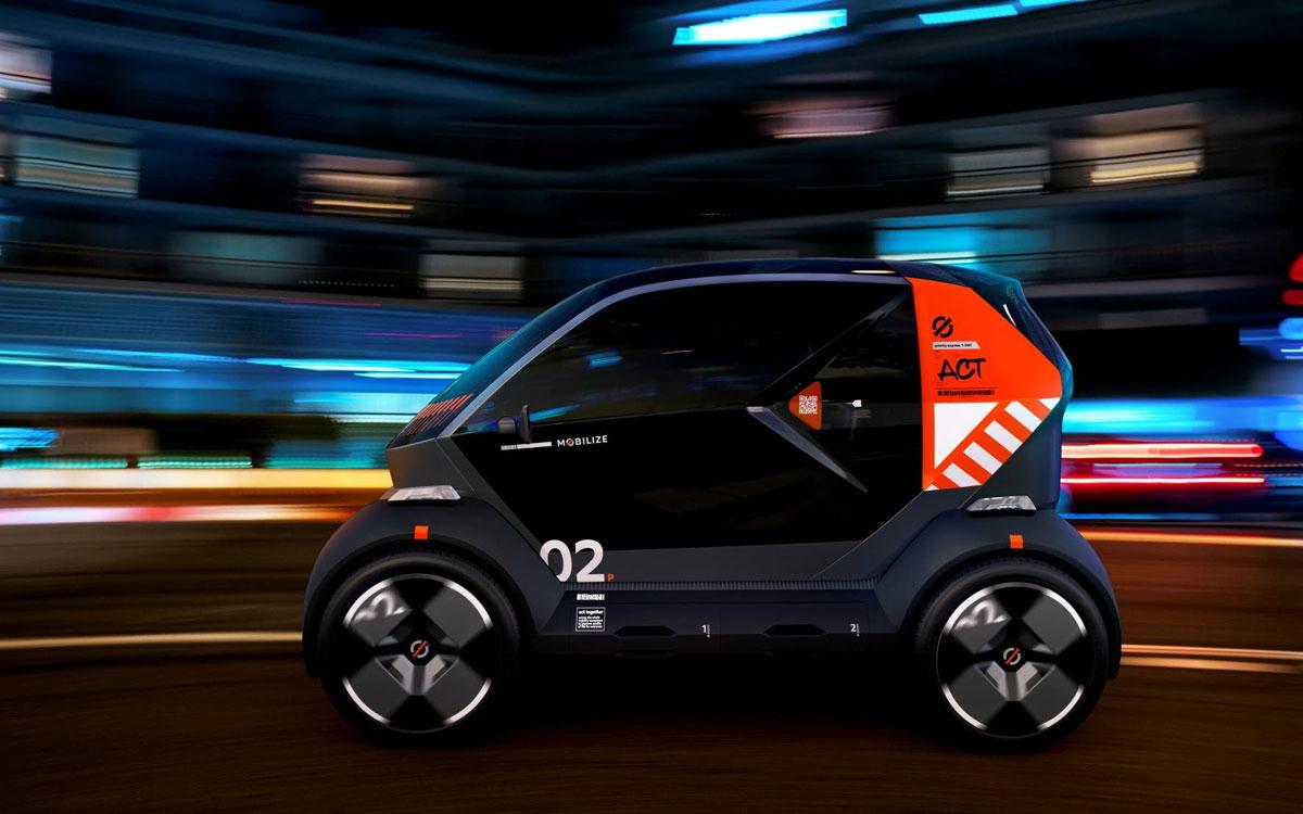 Mobilize: la marca eléctrica de Renault y sus 3 vehículos citadinos
