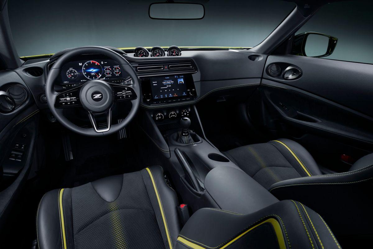Foto del interior del Nissan Z