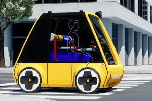 A este vehículo eléctrico lo puedes armar en tu casa
