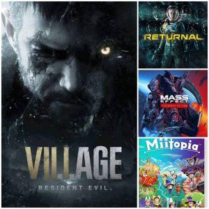 Reseña: Resident Evil Village, Returnal, Mass Effect Legendary Edition y Miitopia