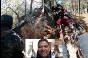 Revelan videos de tiroteo entre CJNG y Cártel de Sinaloa donde párroco murió en fuego cruzado