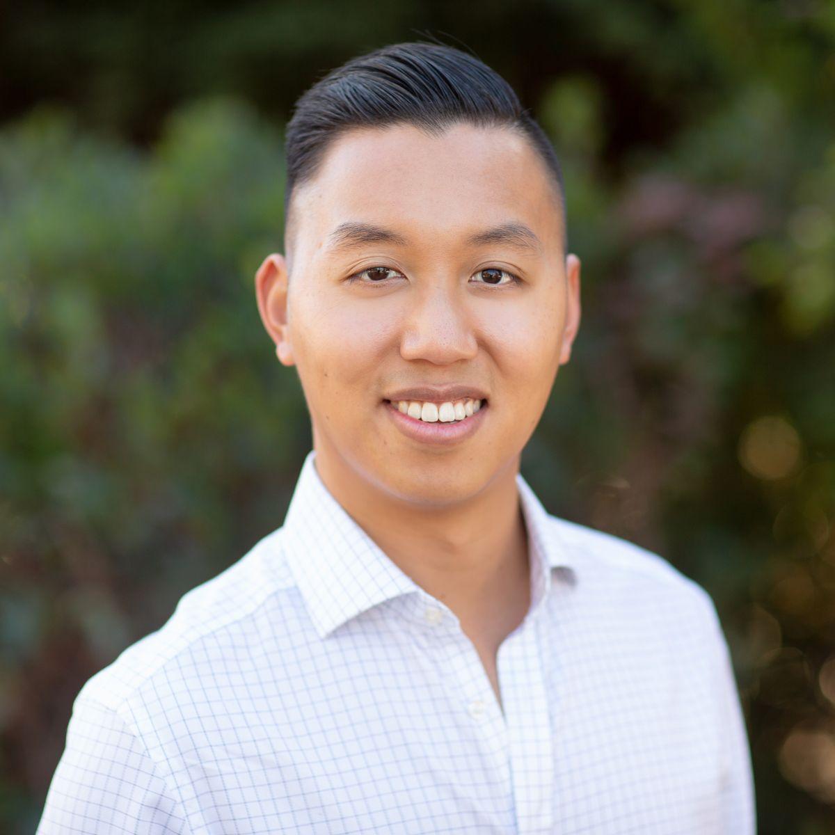 Foto de Richard Wang, cofundador y director ejecutivo de Cuberg