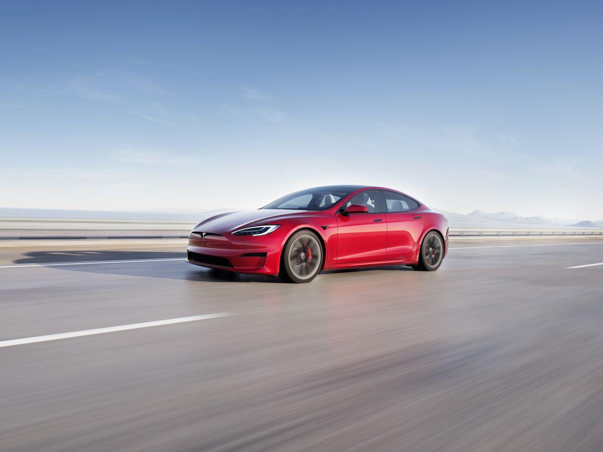 Foto del Tesla Model S