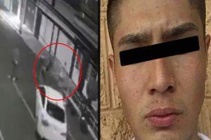 VIDEO: Se entrega Diego Armando, jovencito que atropelló a su novia y amiga brutalmente