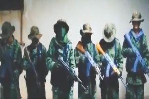 VIDEO: CJNG anuncia su llegada al territorio del Cártel de Sinaloa; se deslinda de muerte de padre y colgados