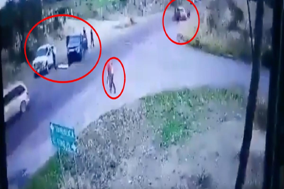 VIDEO: CJNG para vehículos a plena luz del día; buscan a sicarios del Mayo Zambada