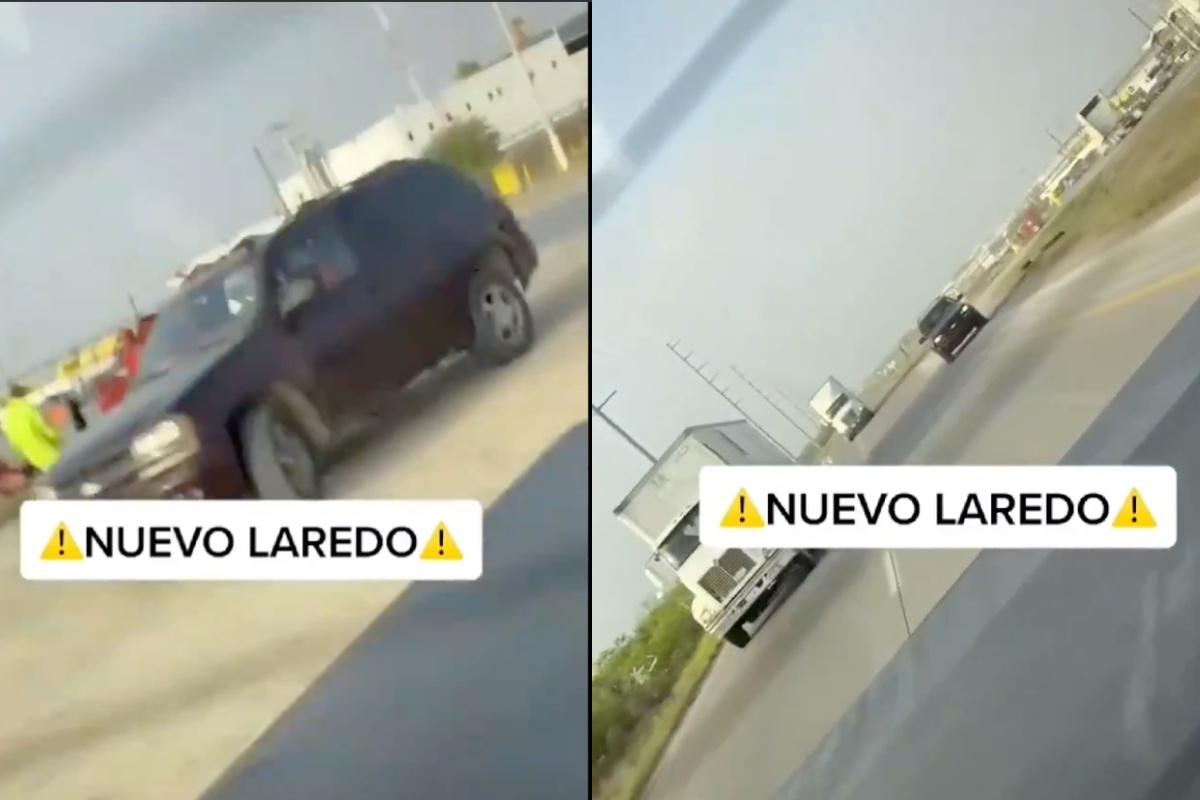 VIDEO: Ciudadano que cruzó frontera logró escapar así de narcos del Cártel del Noreste que piden $1,000 dólares