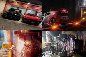 VIDEO: El Chucky, el narco del CJNG que murió calcinado en su Lamborghini de $200,000 dólares