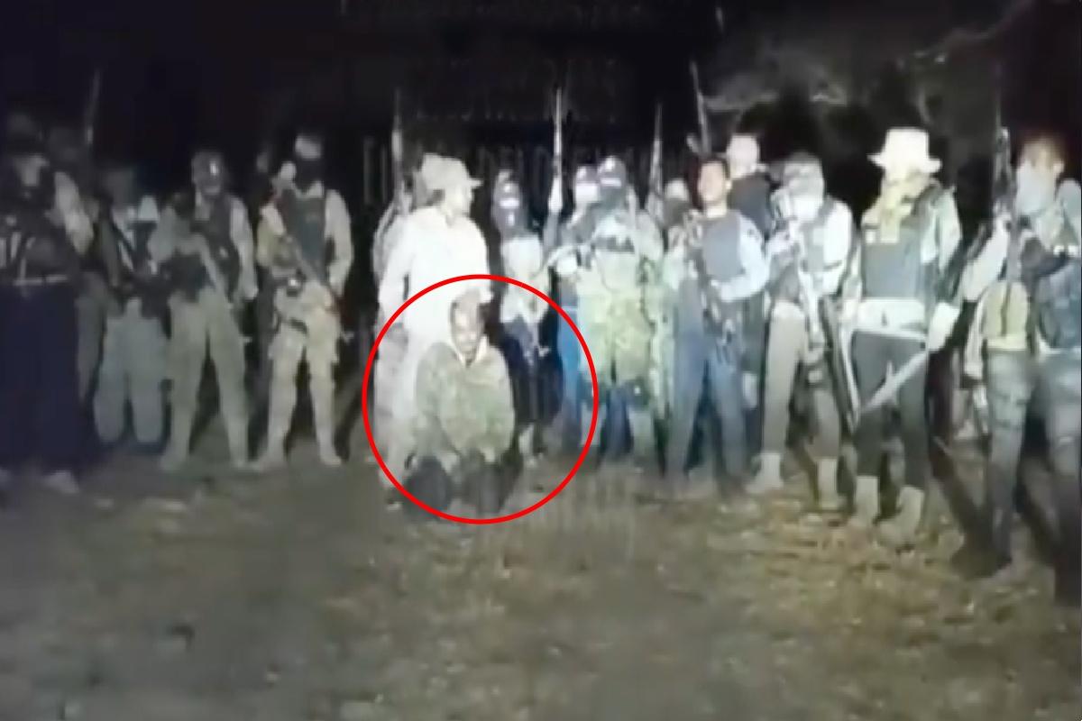 VIDEO: El Mencho manda mensaje al Mayo Zambada y captura a uno de sus sicarios de élite
