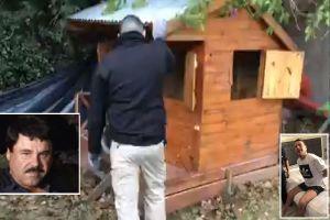 VIDEO: Narco construyó búnker bajo casa de juegos a 16 pies bajo tierra y lo comparan con el Chapo Guzmán