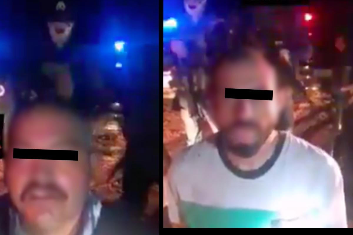 VIDEO: Narcos del Cártel de Sinaloa interrogan y luego cuelga en puente a sicarios del CJNG